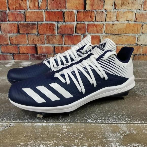 Adidas Men's Afterburner 6 Baseball Blue/White